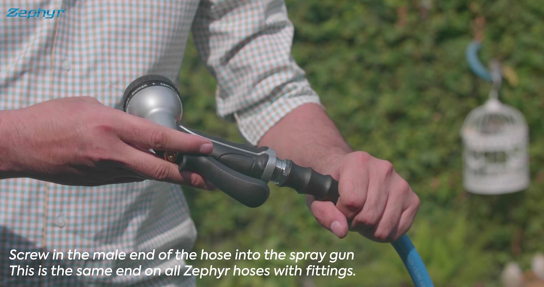 Zephyr Spray Gun – Installation Guide