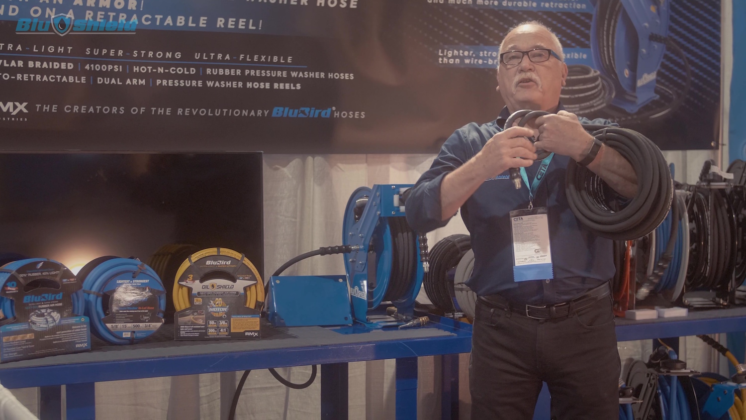 BluShield Kevlar-braided Pressure Washer Hoses and Reels – Introduction